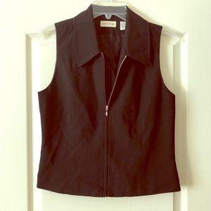 Ann Taylor zip up vest